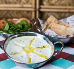 Logma Khaleeji Emirati Cuisine Food Dubai Labneh Plate